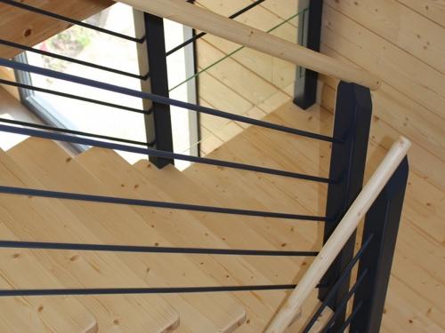 ES009 - Escalier bois imitation fer