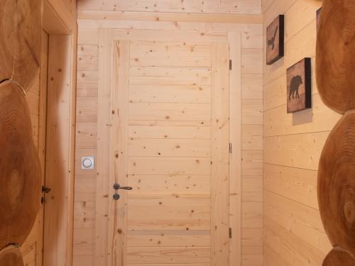 Porte intérieure sapin