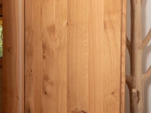PO044- Porte en chêne naturel (non blanchi)